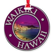 Waikiki Round Ornament
