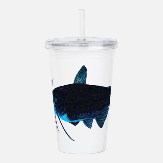 CAT BLUE Acrylic Double-wall Tumbler