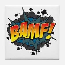 BAMF Tile Coaster