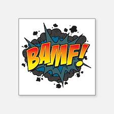 """BAMF Square Sticker 3"""" x 3"""""""