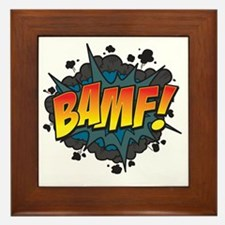 BAMF Framed Tile