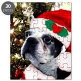Boston terrier christmas Puzzles