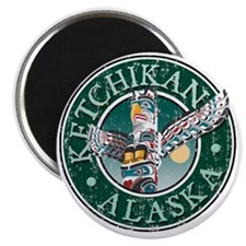 Ketchikan, AK - Distressed Magnet