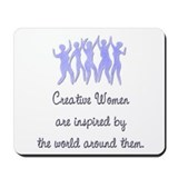 Creative women Mouse Pads