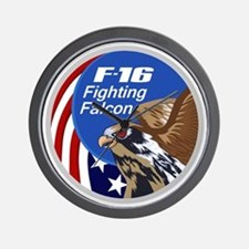 F-16 Falcon Wall Clock