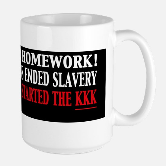 Republicans Ended Slavery Democrats Sta Large Mug