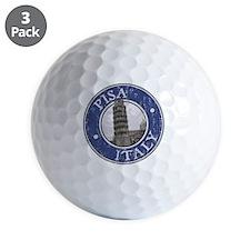 Pisa, Italy - Distressed Golf Ball