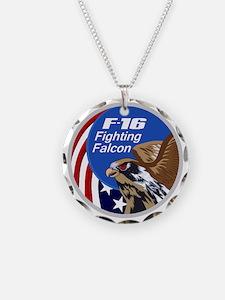 F-16 Falcon Necklace