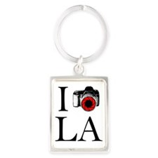 I Shoot LA! Portrait Keychain