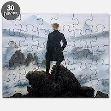 Caspar David Friedrich Wanderer Puzzle