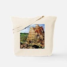 Pieter Bruegel the Elder Tower of Babel Tote Bag