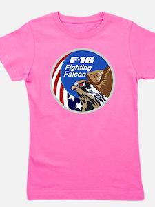F-16 Falcon Girl's Tee