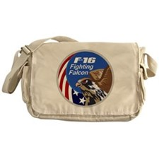 F-16 Falcon Messenger Bag