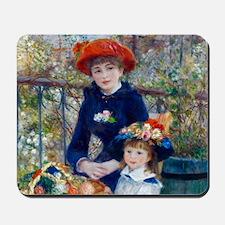 Pierre-Auguste Renoir Two Sisters Mousepad