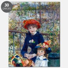 Pierre-Auguste Renoir Two Sisters Puzzle