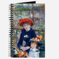 Pierre-Auguste Renoir Two Sisters Journal