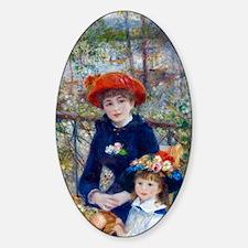 Pierre-Auguste Renoir Two Sisters Decal