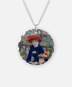 Pierre-Auguste Renoir Two Si Necklace
