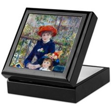 Pierre-Auguste Renoir Two Sisters Keepsake Box