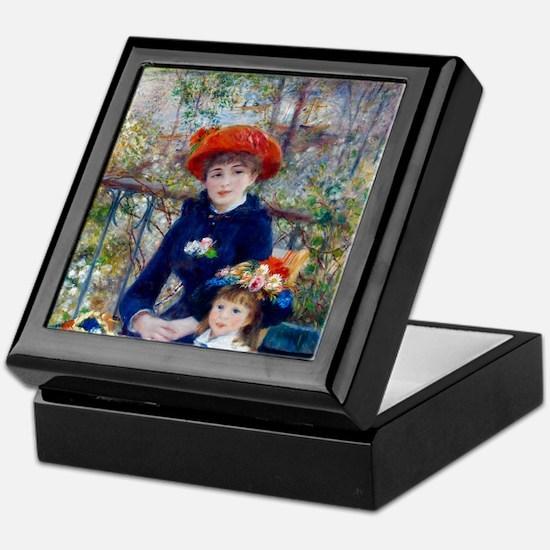 Pierre-Auguste Renoir Two Sisters Keepsake Box