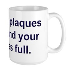 Plaques few, vesicles full Mug