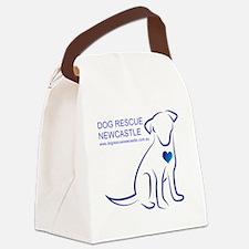 Dog Rescue Newcastle logo Canvas Lunch Bag