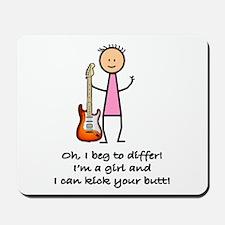 Girls & Guitars Mousepad