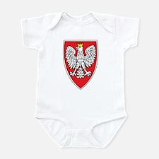 Poland Tarcza 1 Infant Bodysuit