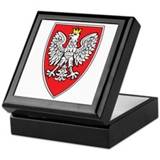 Poland Tarcza 1 Keepsake Box