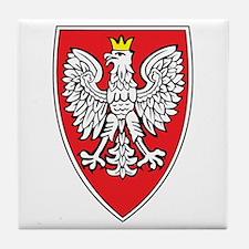 Poland Tarcza 1 Tile Coaster