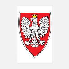 Poland Tarcza 1 Rectangle Decal