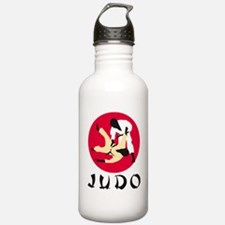 judo fighters Water Bottle