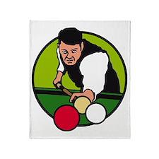 karambol billard Throw Blanket