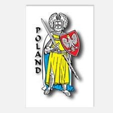 Poland Knight 2 Postcards (Package of 8)