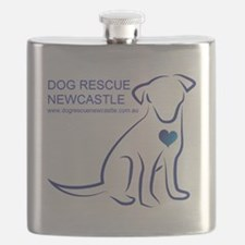 Dog Rescue Newcastle simple logo 2 Flask