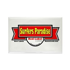 Cool Surfer paradise Rectangle Magnet