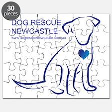 Dog Rescue Newcastle simple logo 2 Puzzle