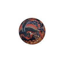 Katsushika Hokusai Mini Button