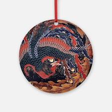 Katsushika Hokusai Round Ornament