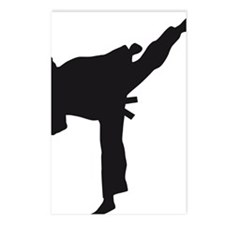 karate Postcards (Package of 8)