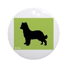 Shepherd iPet Ornament (Round)