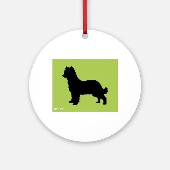Shepherd iPet Ornament (Round)