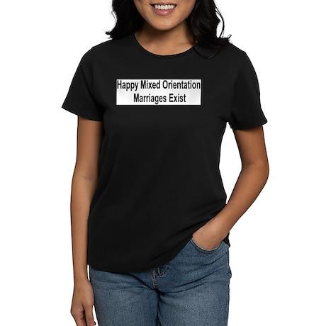 """Happy M.O.M.'s Exist"" Women's Dark T-Shirt"