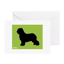Schapendoes iPet Greeting Cards (Pk of 10)
