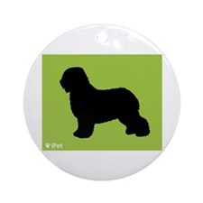 Schapendoes iPet Ornament (Round)