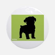 Schnoodle iPet Ornament (Round)