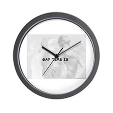 GAY WALL CLOCK