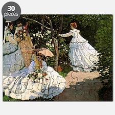 Claude Monet Women In The Garden Puzzle