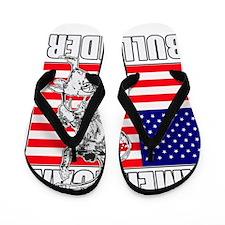 American Bull Rider Flip Flops