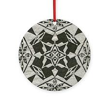 stad001 Round Ornament